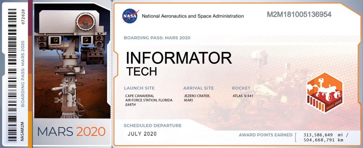 Теперь Informator Tech есть и на Марсе