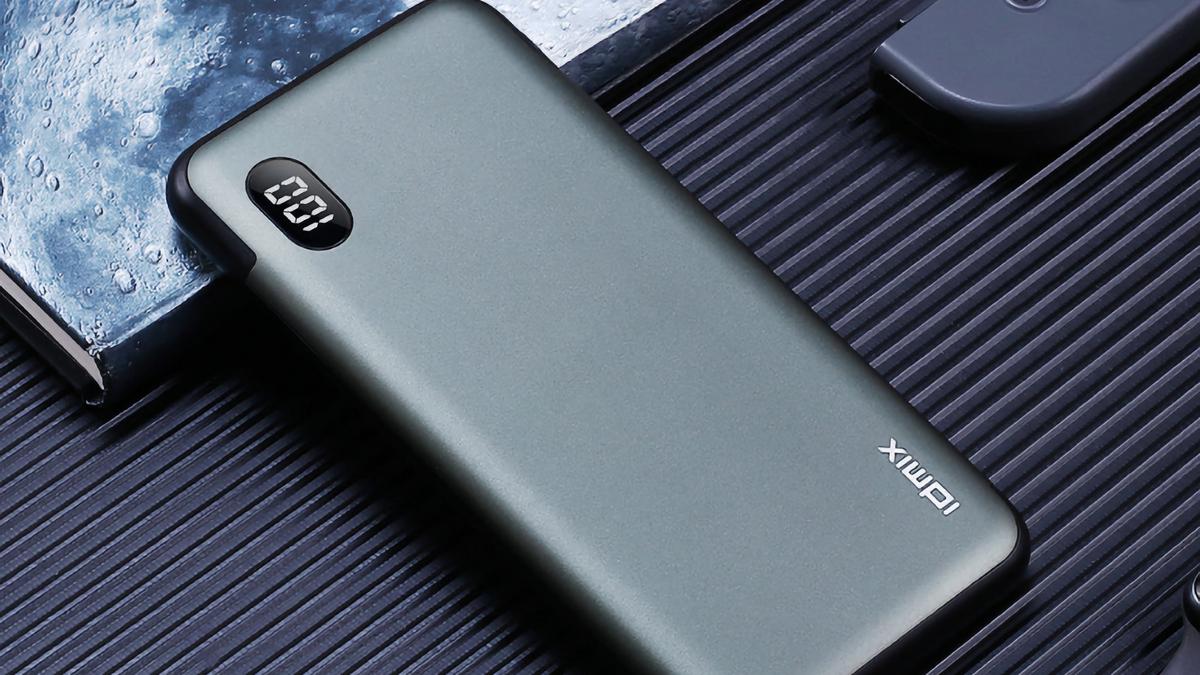 Xiaomi выпустила PowerBank IDMIX P10 Pro на 10 000 мАч