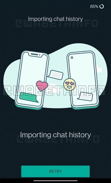 В бета-версии WhatsApp появилась возможность переносить чаты между Android и iOS